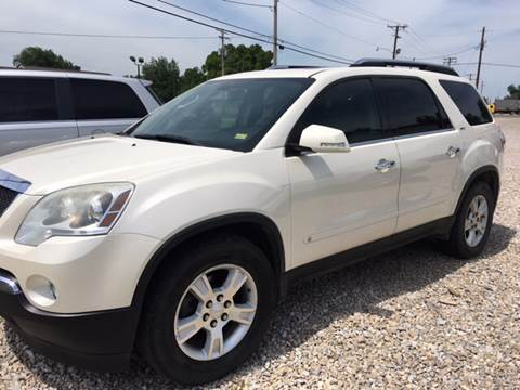 2009 GMC Acadia for sale at Battles Storage Auto & More in Dexter MO
