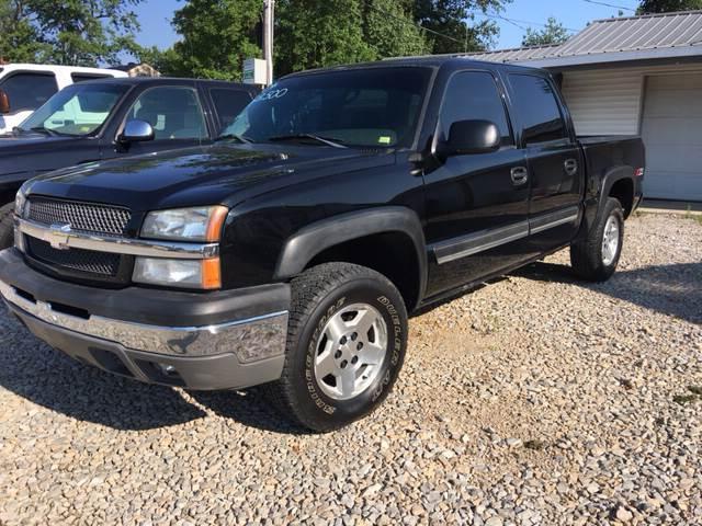2004 Chevrolet Silverado 1500 for sale at Battles Storage Auto & More in Dexter MO