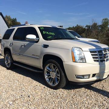2007 Cadillac Escalade for sale at Battles Storage Auto & More in Dexter MO