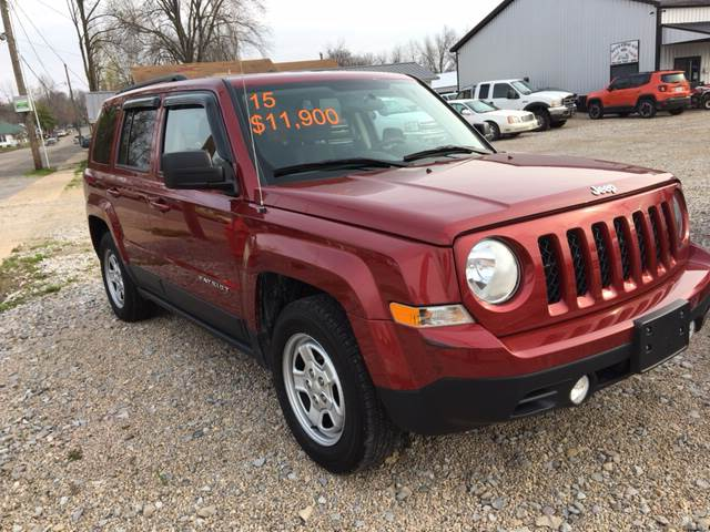2015 Jeep Patriot for sale at Battles Storage Auto & More in Dexter MO