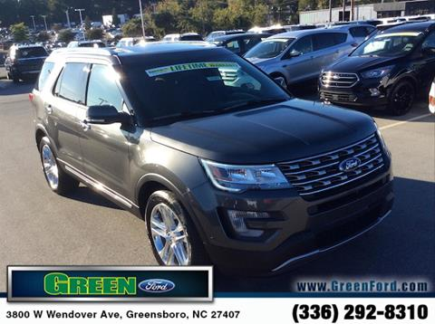 2017 Ford Explorer for sale in Greensboro, NC