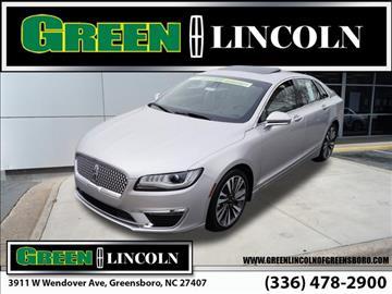 2017 Lincoln MKZ for sale in Greensboro, NC