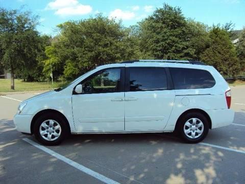 2010 Kia Sedona for sale at ACH AutoHaus in Dallas TX