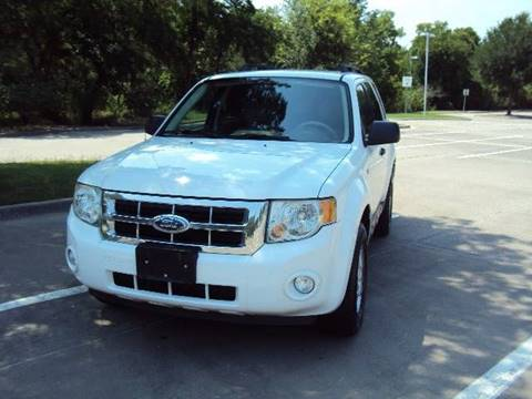 2008 Ford Escape for sale at ACH AutoHaus in Dallas TX