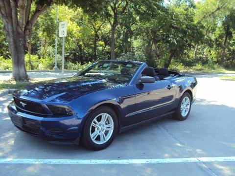 2011 Ford Mustang for sale at ACH AutoHaus in Dallas TX