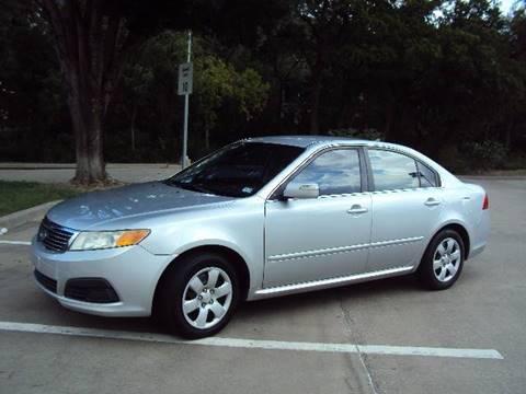 2009 Kia Optima for sale at ACH AutoHaus in Dallas TX