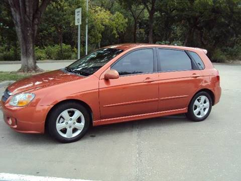2007 Kia Spectra for sale at ACH AutoHaus in Dallas TX