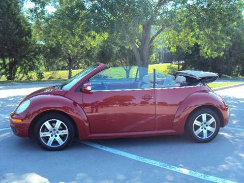 2006 Volkswagen New Beetle for sale at ACH AutoHaus in Dallas TX