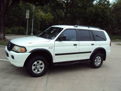 2003 Mitsubishi Montero Sport for sale at ACH AutoHaus in Dallas TX