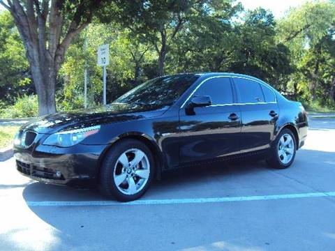2005 BMW 5 Series for sale at ACH AutoHaus in Dallas TX