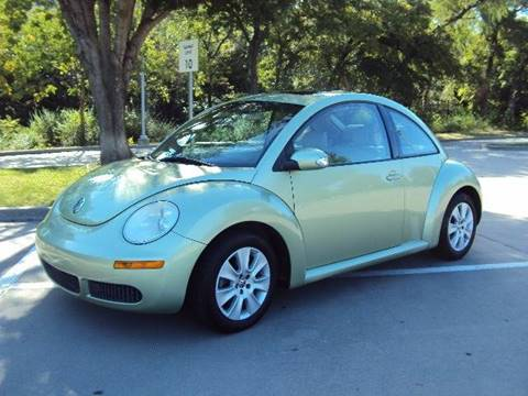 2008 Volkswagen New Beetle for sale at ACH AutoHaus in Dallas TX