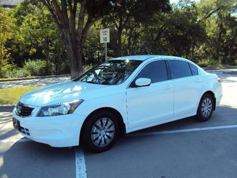 2009 Honda Accord for sale at ACH AutoHaus in Dallas TX