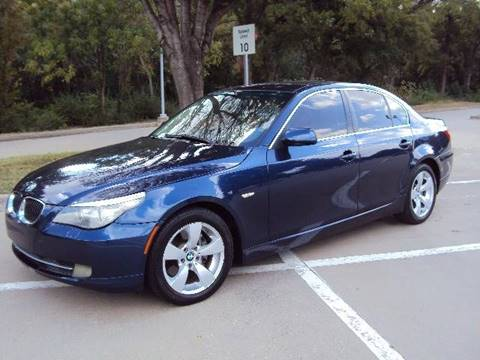 2008 BMW 5 Series for sale at ACH AutoHaus in Dallas TX