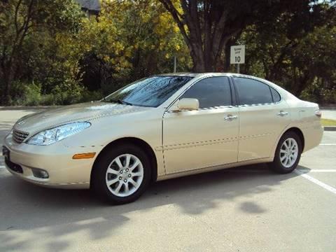 2004 Lexus ES 330 for sale at ACH AutoHaus in Dallas TX