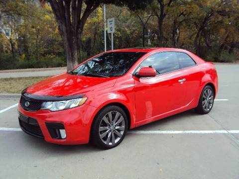 2011 Kia Forte Koup for sale at ACH AutoHaus in Dallas TX
