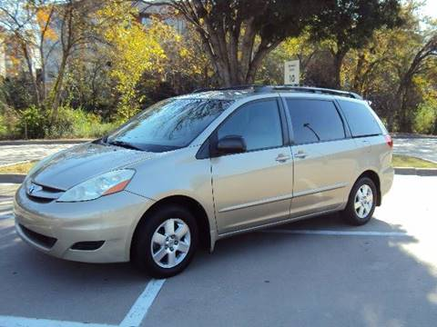 2008 Toyota Sienna for sale at ACH AutoHaus in Dallas TX