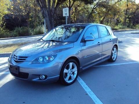 2005 Mazda MAZDA3 for sale at ACH AutoHaus in Dallas TX