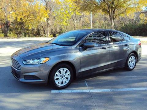 2014 Ford Fusion for sale at ACH AutoHaus in Dallas TX