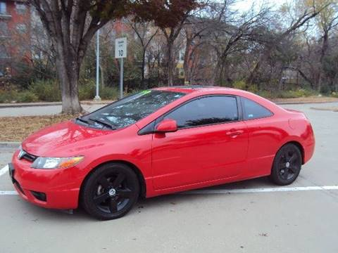 2006 Honda Civic for sale at ACH AutoHaus in Dallas TX