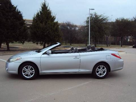 2007 Toyota Camry Solara for sale at ACH AutoHaus in Dallas TX