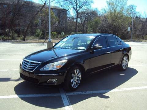 2011 Hyundai Genesis for sale at ACH AutoHaus in Dallas TX