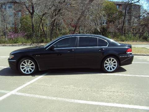 2002 BMW 7 Series for sale at ACH AutoHaus in Dallas TX