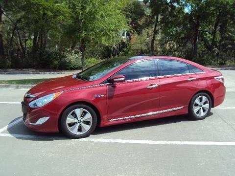 2012 Hyundai Sonata Hybrid for sale at ACH AutoHaus in Dallas TX