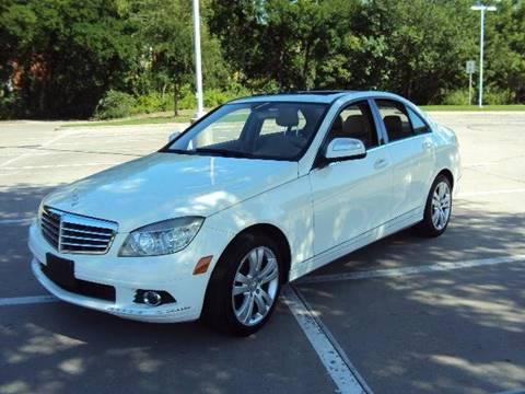 2008 Mercedes-Benz C-Class for sale at ACH AutoHaus in Dallas TX