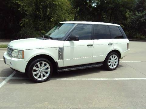 2007 Land Rover Range Rover for sale at ACH AutoHaus in Dallas TX