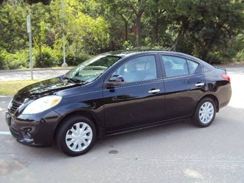 2012 Nissan Versa for sale at ACH AutoHaus in Dallas TX