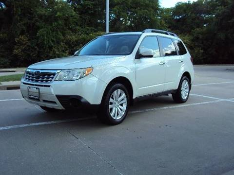 2012 Subaru Forester for sale at ACH AutoHaus in Dallas TX