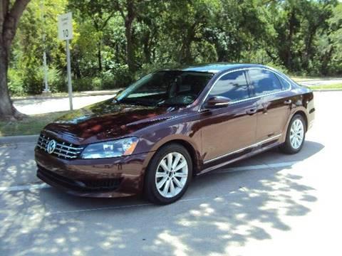 2012 Volkswagen Passat for sale at ACH AutoHaus in Dallas TX