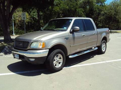 2003 Ford F-150 for sale at ACH AutoHaus in Dallas TX