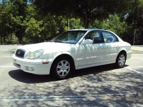 2004 Hyundai Sonata for sale at ACH AutoHaus in Dallas TX