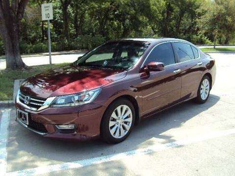 2013 Honda Accord for sale at ACH AutoHaus in Dallas TX