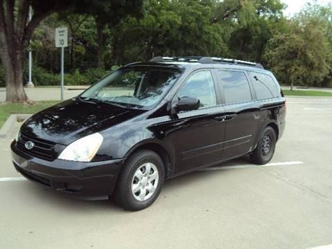 2008 Kia Sedona for sale at ACH AutoHaus in Dallas TX