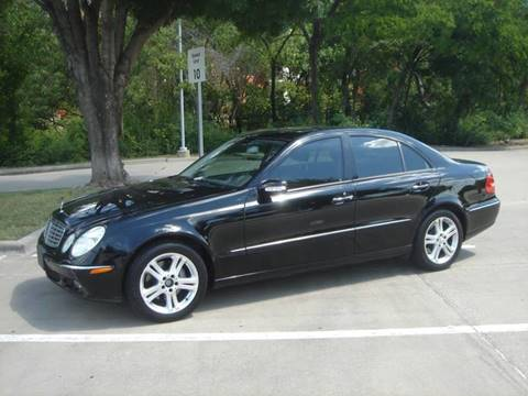 2006 Mercedes-Benz E-Class for sale at ACH AutoHaus in Dallas TX