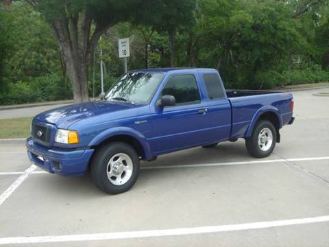 2004 Ford Ranger for sale at ACH AutoHaus in Dallas TX