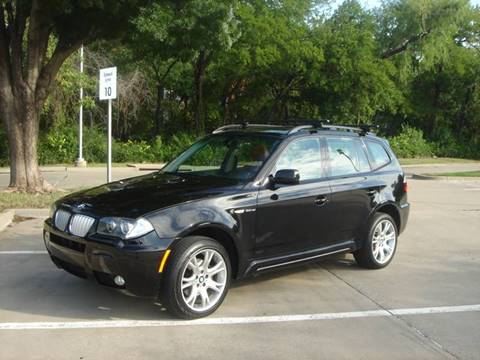 2007 BMW X3 for sale at ACH AutoHaus in Dallas TX