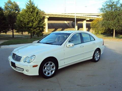 2005 Mercedes-Benz C-Class for sale at ACH AutoHaus in Dallas TX