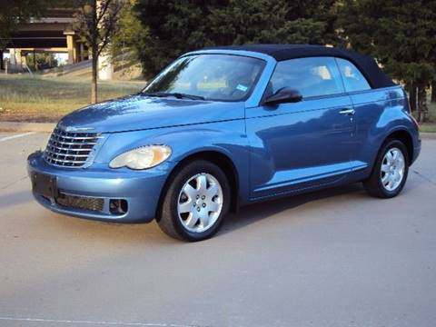 2007 Chrysler PT Cruiser for sale at ACH AutoHaus in Dallas TX