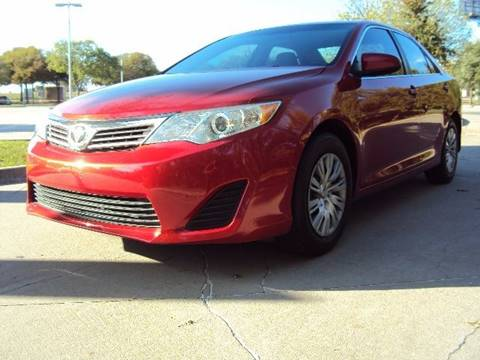 2012 Toyota Camry for sale at ACH AutoHaus in Dallas TX
