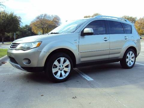 2008 Mitsubishi Outlander for sale at ACH AutoHaus in Dallas TX