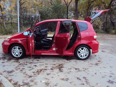 2007 Honda Fit for sale at ACH AutoHaus in Dallas TX