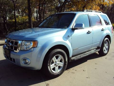 2008 Ford Escape Hybrid for sale at ACH AutoHaus in Dallas TX