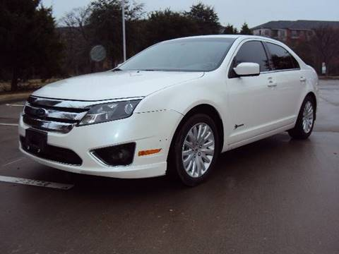 2010 Ford Fusion Hybrid for sale at ACH AutoHaus in Dallas TX