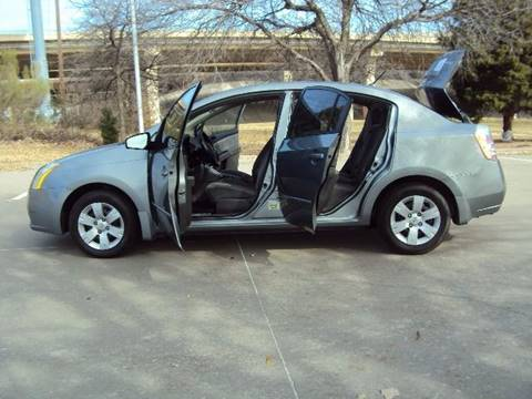 2008 Nissan Sentra for sale at ACH AutoHaus in Dallas TX