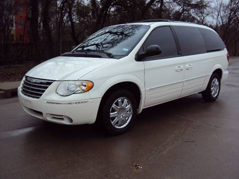 2007 Chrysler Town and Country for sale at ACH AutoHaus in Dallas TX