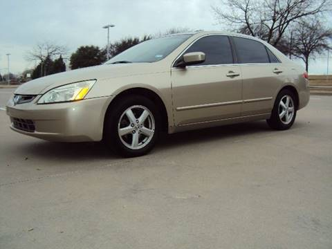 2005 Honda Accord for sale at ACH AutoHaus in Dallas TX