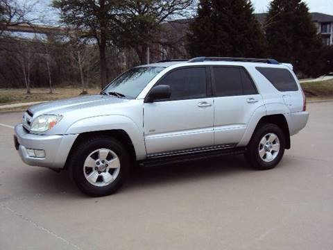 2004 Toyota 4Runner for sale at ACH AutoHaus in Dallas TX